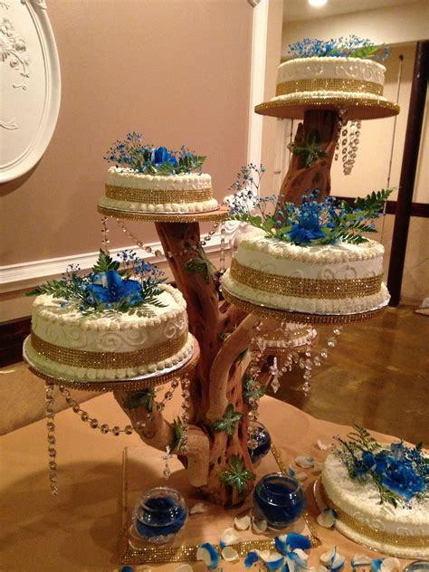 Tree Branch Cake Stand Diy